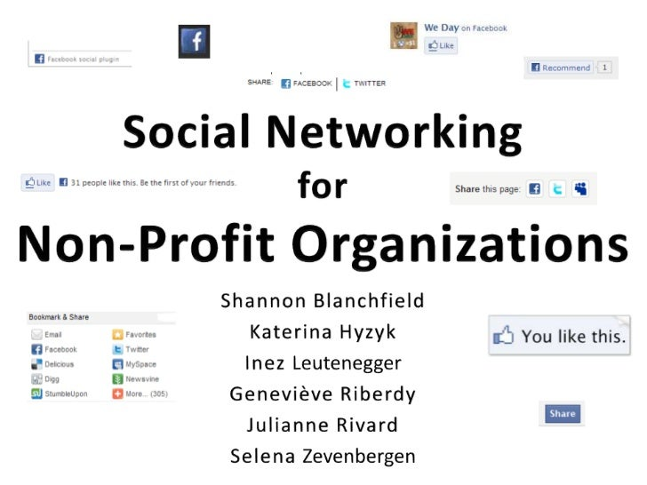 Social Networking for Non-Profit Organizations