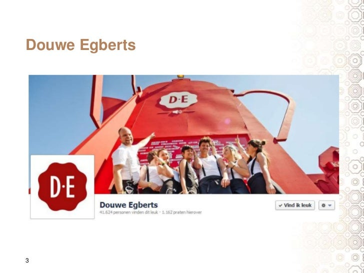 Douwe egberts op facebook door casper mooyman for Door 3 facebook