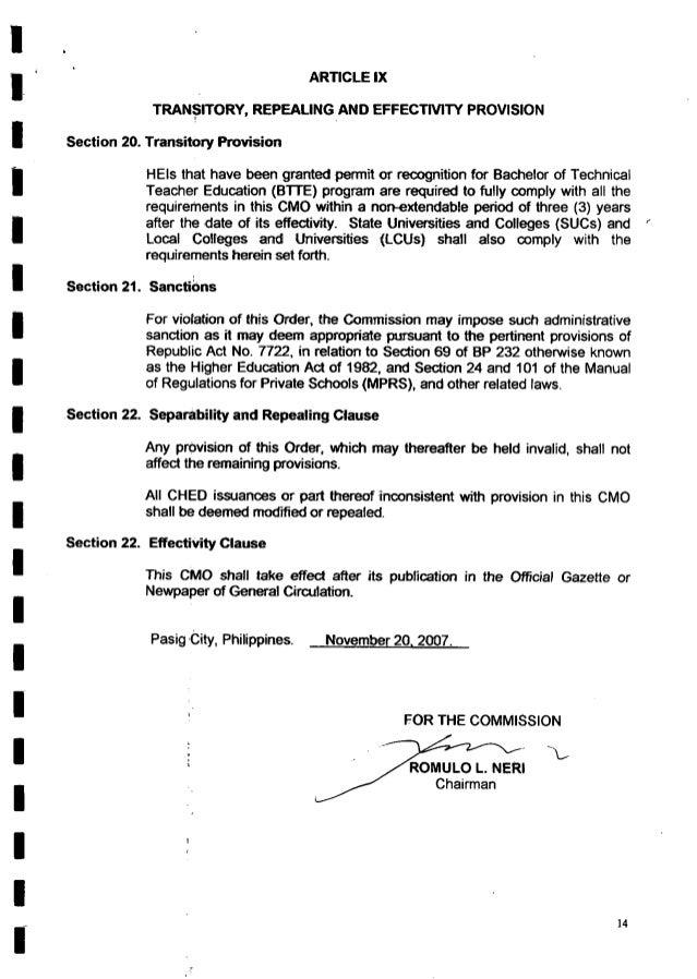 . *  'l'   Section 20.  Section 21.  , Section 22.  Section 22.  ARirIC-LE IX TRANSITORY,  REPEALINGAND EFFECTNITY PROVISI...