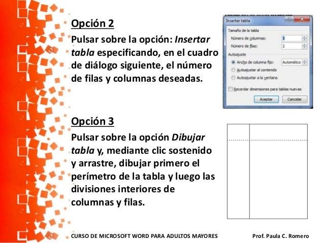 c u00f3mo confeccionar tablas en word 2010