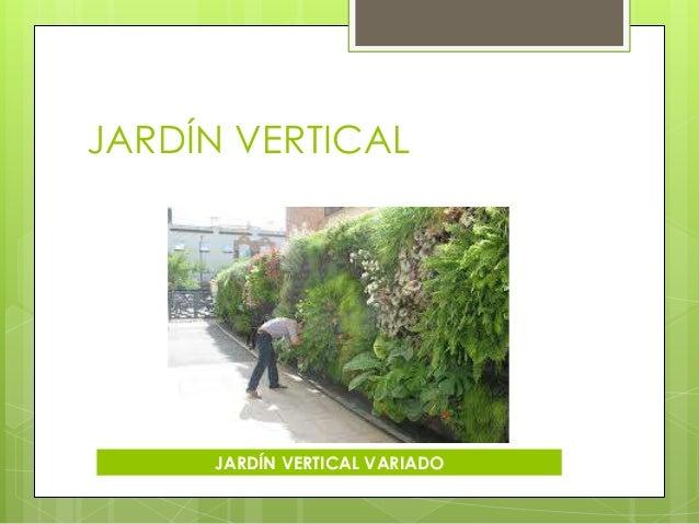 C mo construir un jard n paola karina fagil for Como construir un jardin vertical