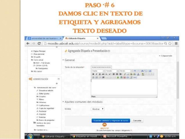PASO # 7 DAMOS CLIC EN GUARDAR CAMBIOS Y REGRESAR AL CURSO