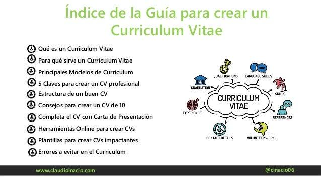 Como Crear Un Curriculum Vitae Perfecto En 2017