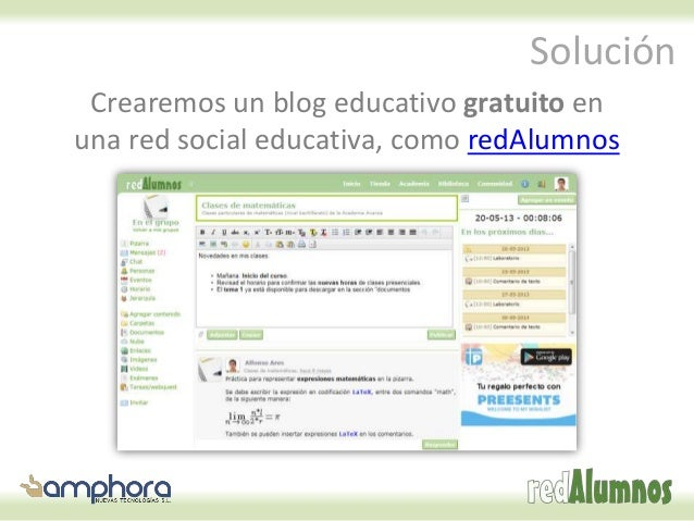 Cómo crear gratis un blog educativo Slide 3