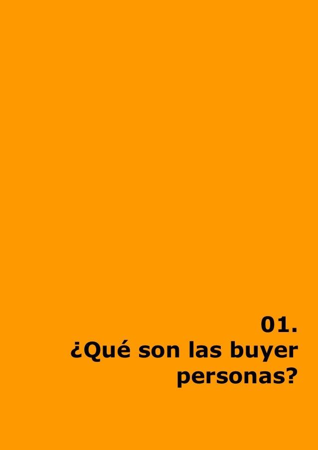 01. ¿Qué son las buyer personas?