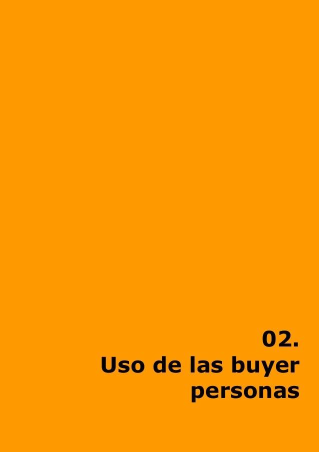 02. Uso de las buyer personas