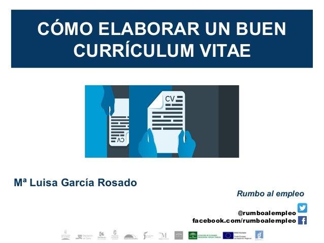 Como Elaborar Un Buen Curriculum Vitae V2