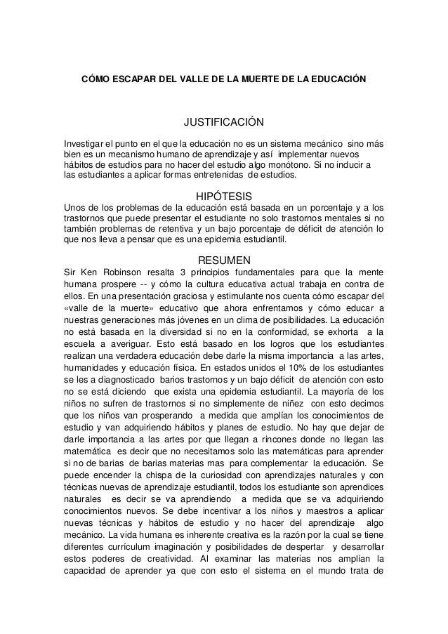 Cmoescapardelvalledelamuertedelaeducacin 130618141713-phpapp02 Slide 2
