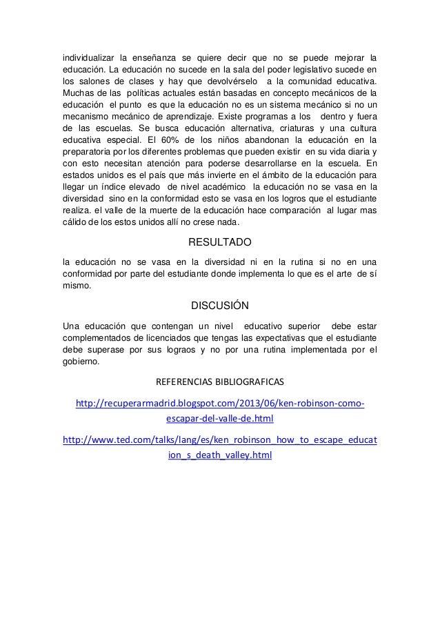 Cmoescapardelvalledelamuertedelaeducacin 130618141713-phpapp02 Slide 3