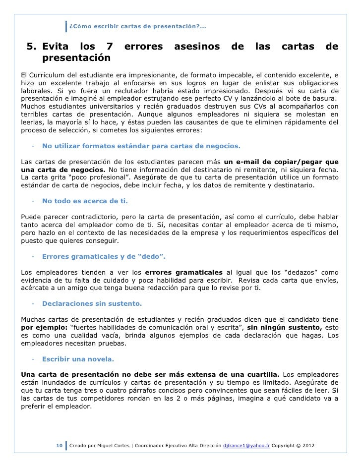 Carta de presentacion para curriculum vitae en ingles - pay to write ...