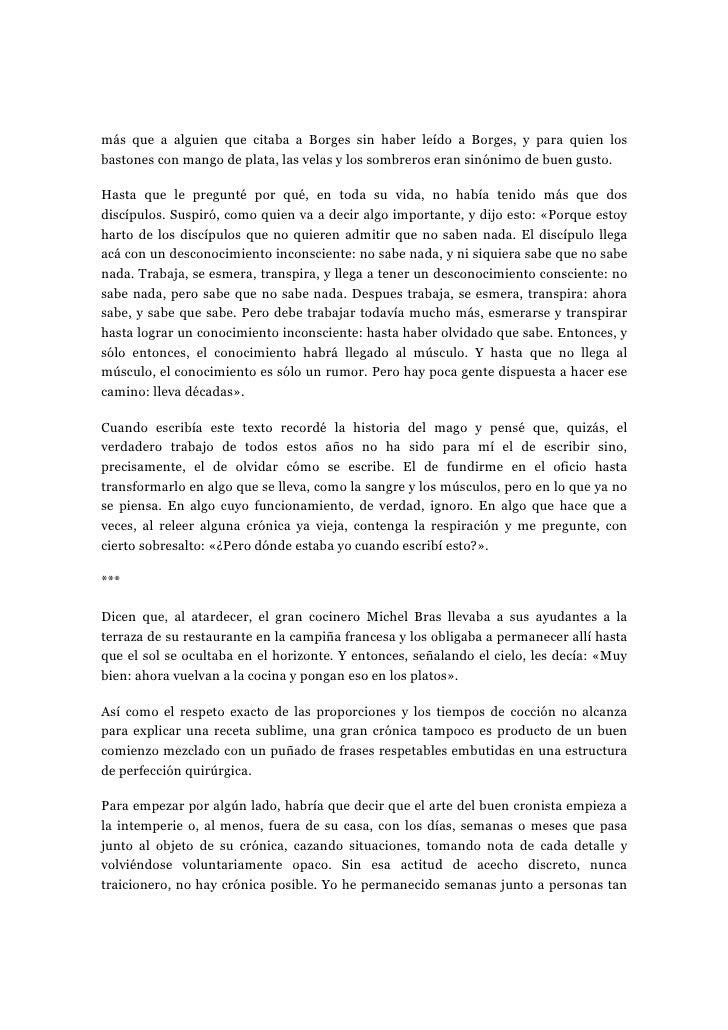 Cómo Escribir Crónicas De L Guerrerox