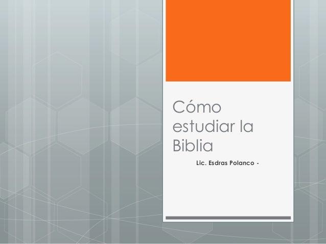 C mo estudiar la biblia bases for Pagina web ministerio interior