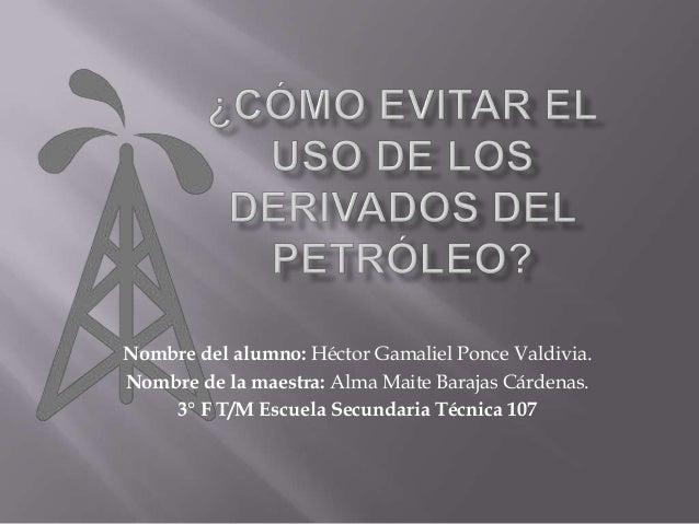 Como evitar el uso de los derivados del petroleo - Como evitar los ratones ...