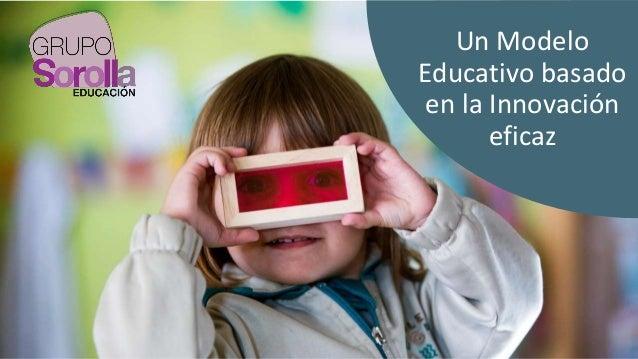 Un Modelo Educativo basado en la Innovación eficaz