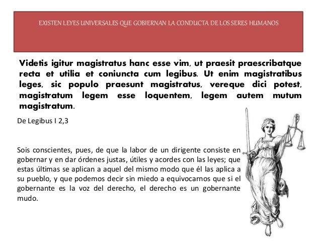 la mejor forma de gobierno es la que se basa en el equilibrio de poderes Ex tribus primis generibus longe praestat mea sen...