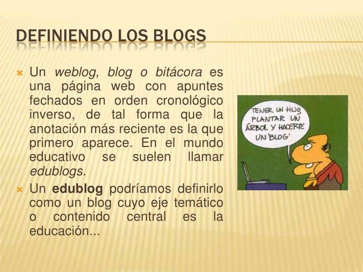 Cómo hacer un blog por Nelson M. Taboada Slide 2