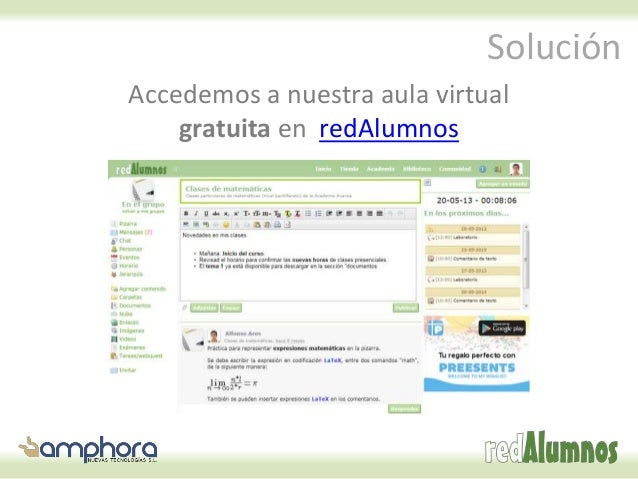 Cómo integrar publicaciones de calameo o isuu en redAlumnos Slide 3