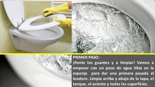 Cómo limpiar el inodoro en 5 pasos
