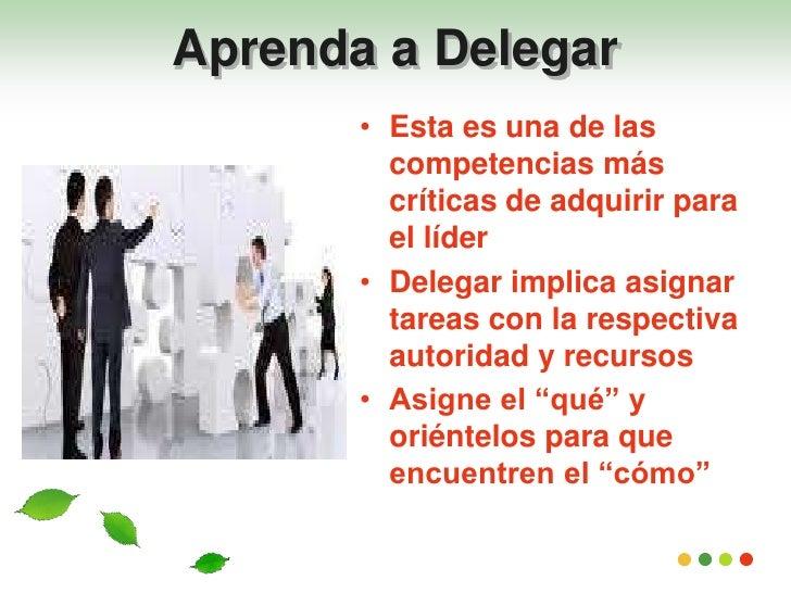 Resultado de imagen para aprendiendo a delegar