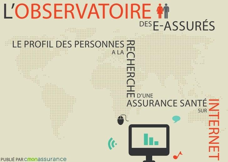 L'OBSERVATOIRE                          DES                                              E-ASSURÉS     LE PROFIL DES PERSO...