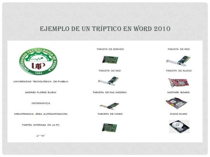C 243 Mo Realizar Un Tr 237 Ptico En Word 2010