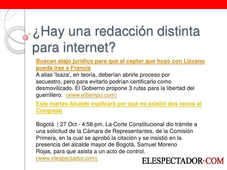 CóMo Redactar En Internet Slide 3