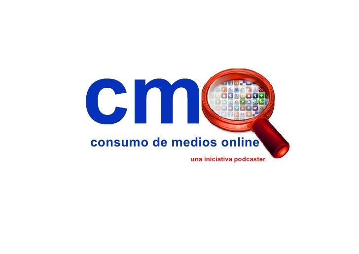consumo de medios online               una iniciativa podcaster