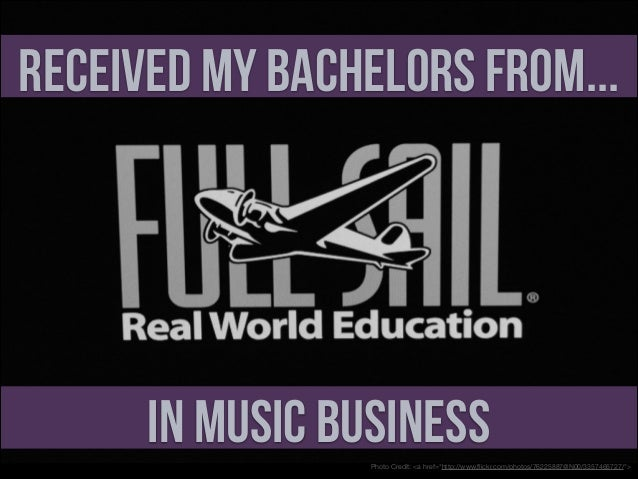 """Received My Bachelors From...  In Music Business Photo Credit: <a href=""""http://www.flickr.com/photos/76225887@N00/335746572..."""