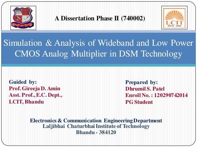 CMOS Analog Multiplier in Deep Sub-Micron Technology