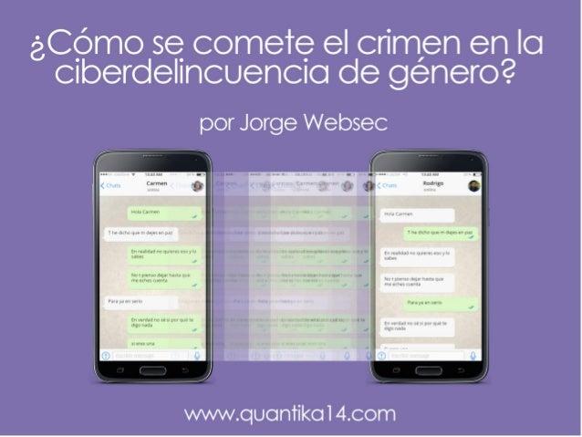 2 @JorgeWebsec - Socio fundador de www.QuantiKa14.com - Perito informático socio en APTAN - Director y creador del equipo ...