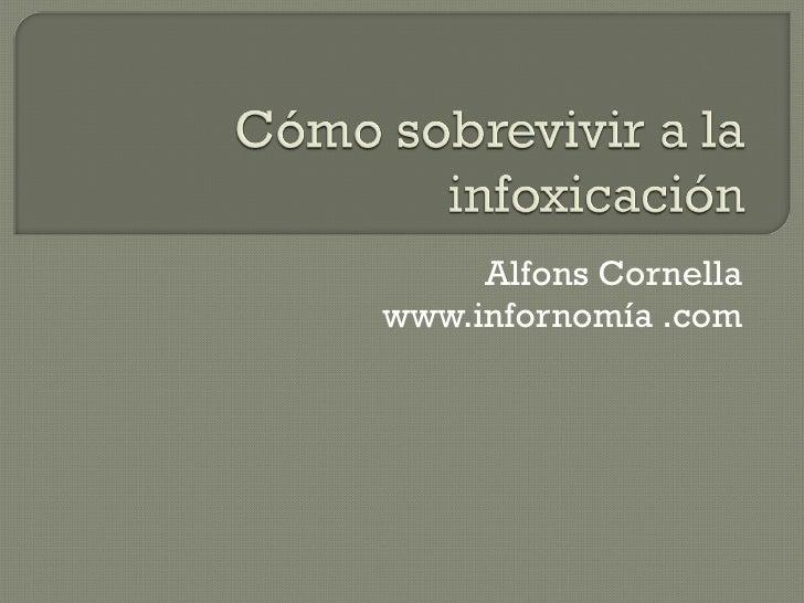 Alfons Cornella www.infornomía .com