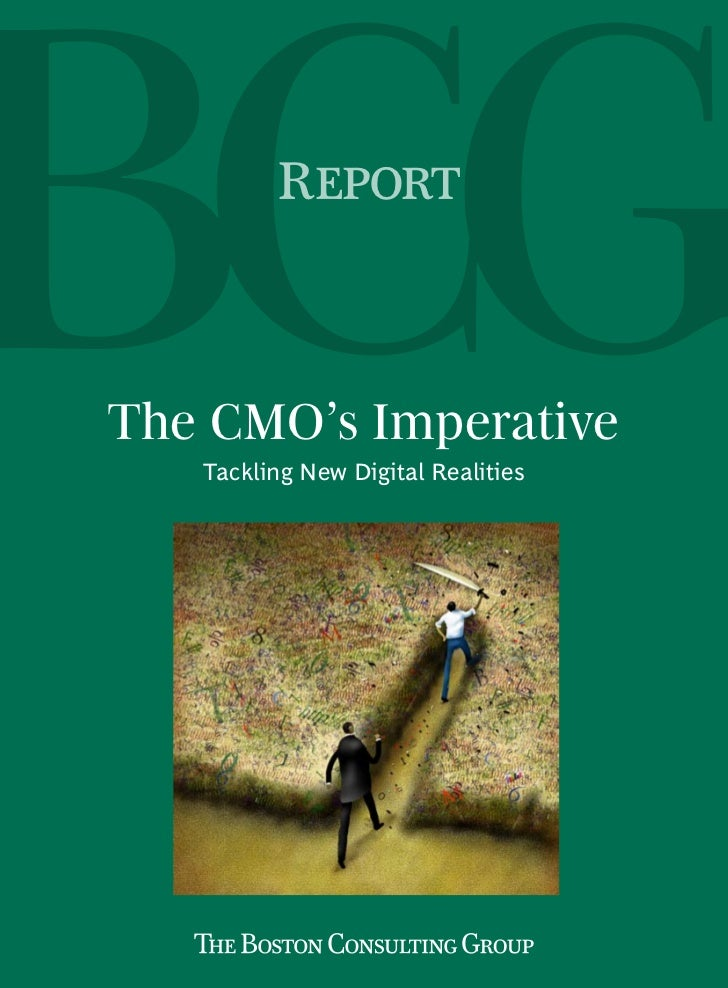 ReportThe CMO's Imperative   Tackling New Digital Realities