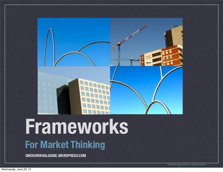 Frameworks                 For Market Thinking                 CMOSURVIVALGUIDE.WORDPRESS.COM                             ...