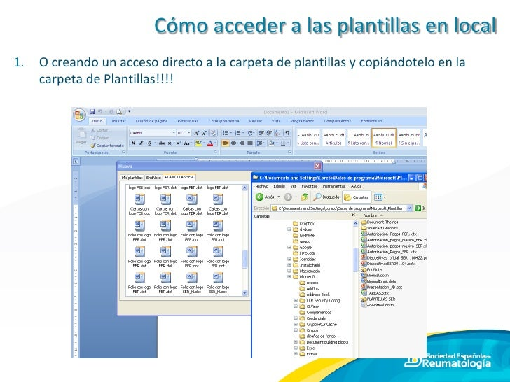 Cómo utilizar plantillas de Office