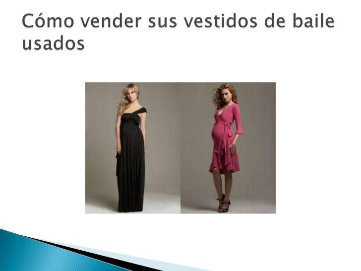 Como vender vestidos de fiesta usados