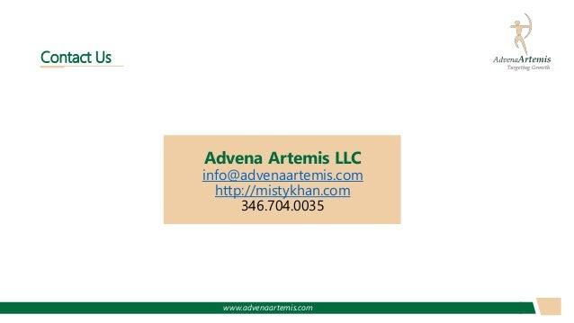 www.advenaartemis.com Advena Artemis LLC info@advenaartemis.com http://mistykhan.com 346.704.0035 Contact Us