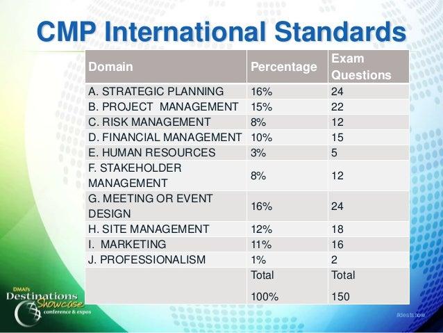 professional certification  obtaining cmp status