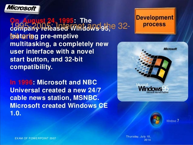 an examination of microsoft company Download the complete collection of exam's real q&as wwwensurepasscom microsoft mta 98-364 exam vendor:microsoft  wwwcompanycom network contains a microsoft .