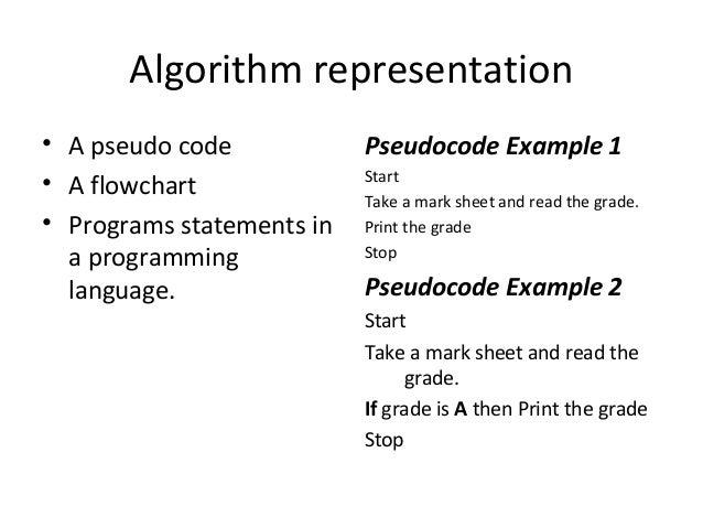 algorithms pseudo code and flowcharts Algorithm and flow chart | lecture 1 2013 amir yasseen mahdi | 1 algorithm and flow chart 11 introduction 12 problem solving 13 algorithm 131 examples of algorithm 132 properties of an algorithm 14 flow chart 141 flow chart symbols.