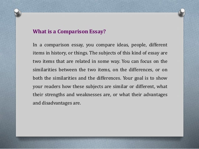 similar and different essay The similarities and differences essay you emphasize the similarities, and a contrast essay is an essay in the similarities and differences of.