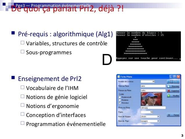 Programmation événementielle avec Windev Slide 3