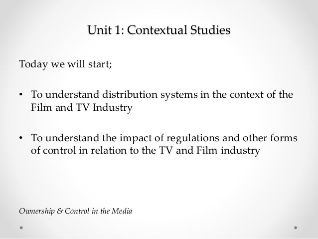 Unit 1 ownership and control Slide 2