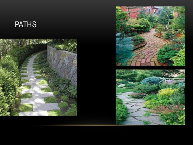 Components of garden