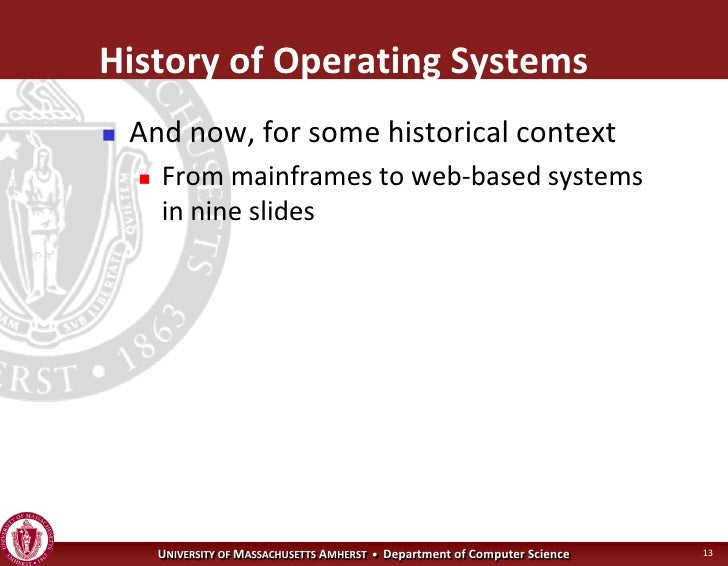 operating systems intro Learn computer operating systems with our free course introduction to operating  systems (os) study basic operating system mechanisms and concurrent.