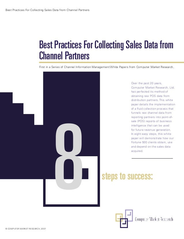 Best Practices For Collecting Sales Data from Channel Partners                          Best Practices For Collecting Sale...