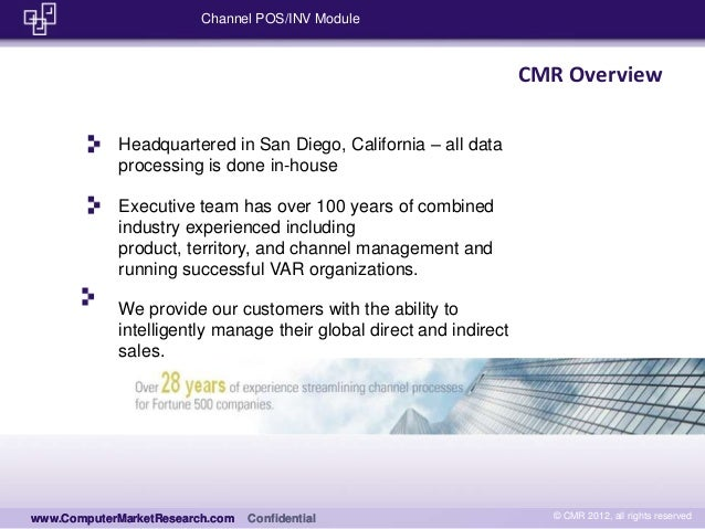 POS Processing by Computer Market Research Slide 2