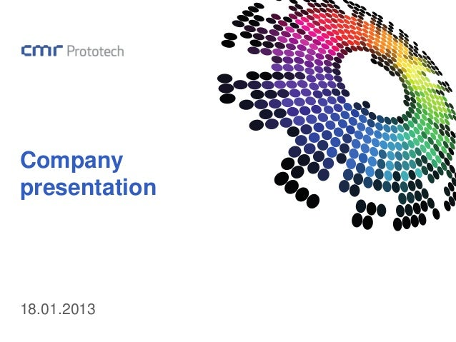 Companypresentation18.01.2013