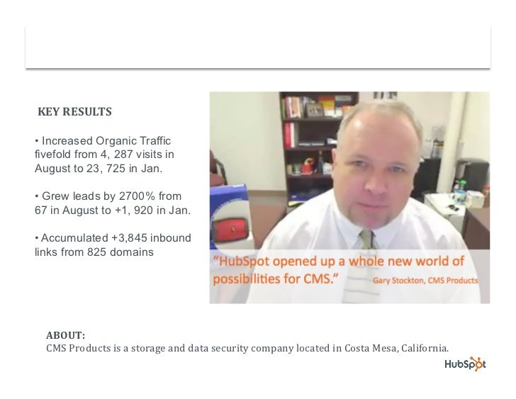 Back-up Software Company Grows Lead Conversions with HubSpot Slide 2