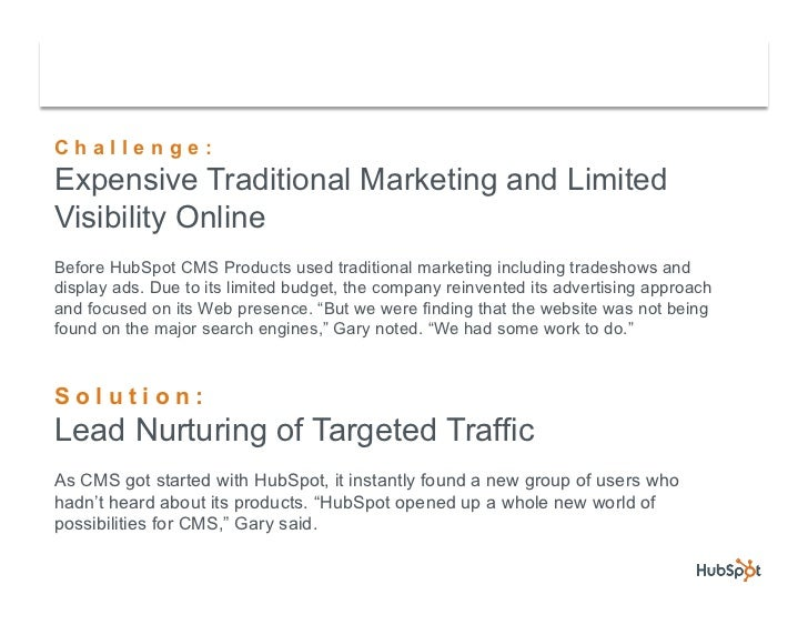 Back-up Software Company Grows Lead Conversions with HubSpot Slide 3