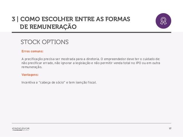 Stock options em sociedade limitada